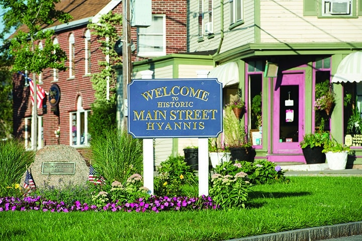 Welcome to Hyannis Main Street