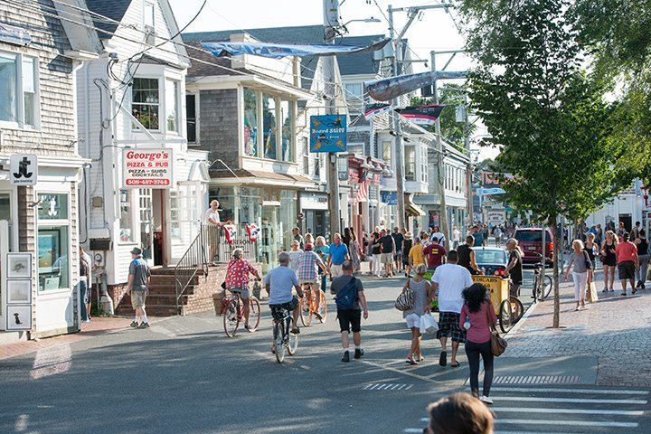 Welcome to Commercial Street in Provincetown