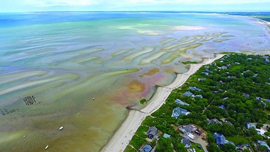 The Changing Shape of the Cape & Islands: The tidal flats of Brewster, Orleans, and Eastham, Sept/Oct Cape Cod Life | capecodlife.com