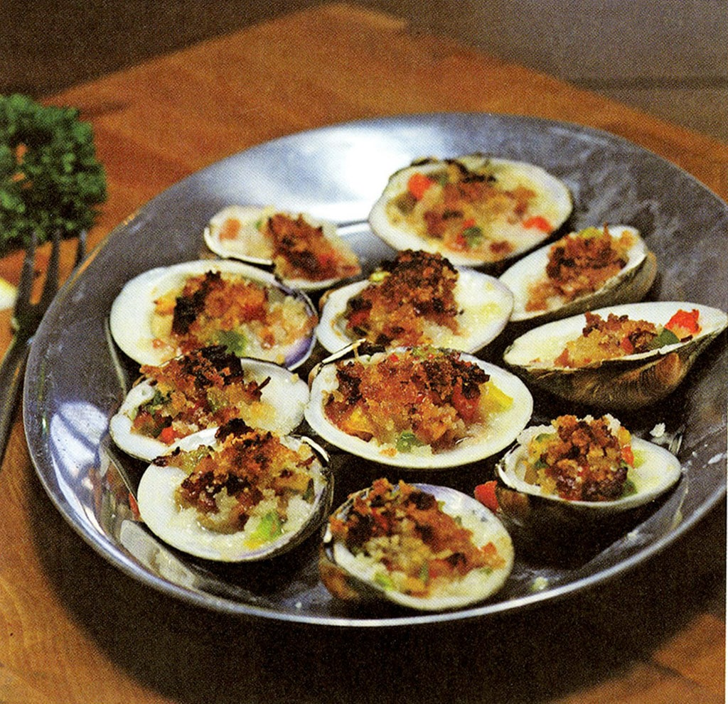 Clams Casino with Casino Butter