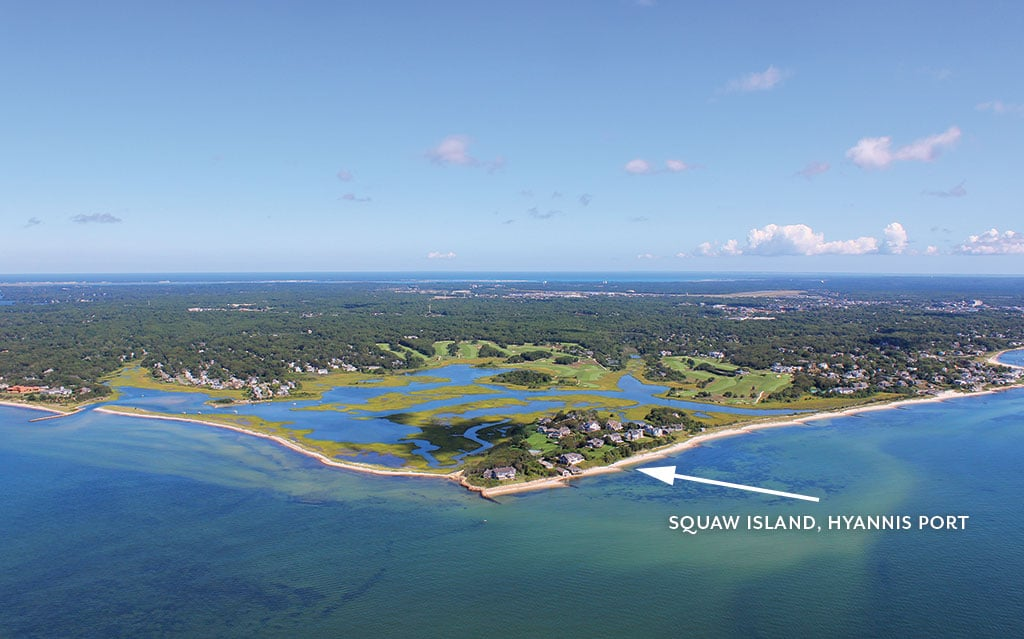 The changing shape of the Cape & Islands Lewis Bay: From Hyannis Port to Kalmus Beach & Great Island, May 2017 Cape Cod LIFE | capecodlife.com