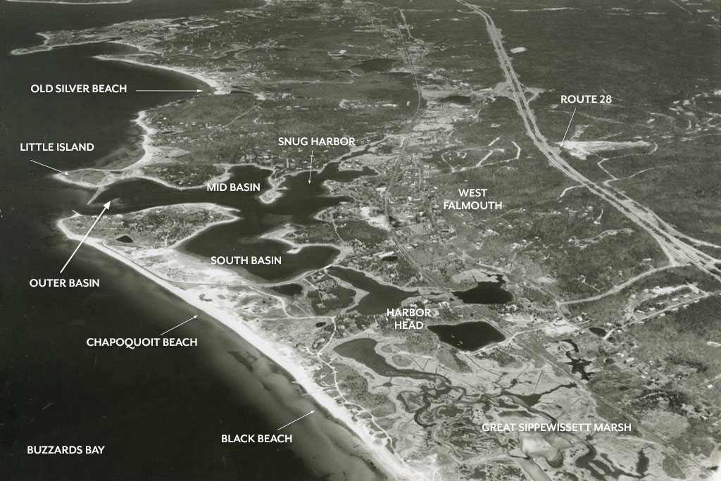 The Changing Shape of the Cape & Islands: West Falmouth Harbor, Chapoquoit Beach & Black Beach, September/October 2017 Cape Cod LIFE | capecodlife.com