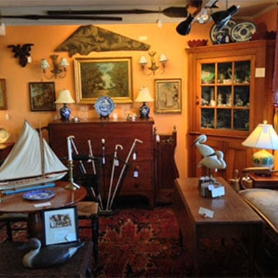 Interior view of the Antiques Depot