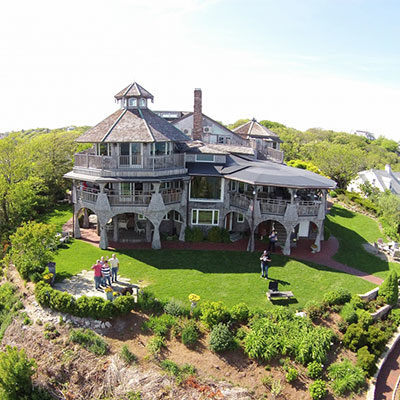 Aerial View of the Lands End Inn